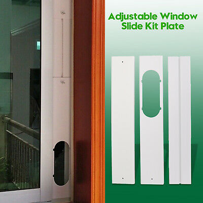 AU31.19 • Buy 3PCS Window Slide Kit Plate + Window Adaptor PVC For Portable Air Conditioner AU