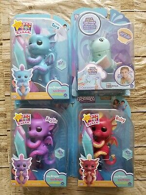 AU19.46 • Buy Fingerlings - Interactive Baby Dragon/Narwhal Collectible Pet By WowWee 5+