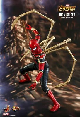 AU505.79 • Buy Hot Toys IRON SPIDER-MAN Avengers Infinity War MMS482 1/6 Scale Figure~Sideshow