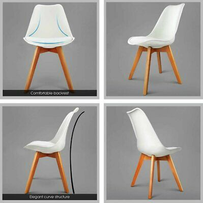 AU171.49 • Buy Kitchen 4 Color Replica Eames Eiffel DSW Home Dining Chair Living Room