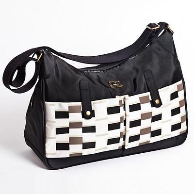 Caboodle Baby Nappy Changing Change Bag Pisa Black & White New • 18.55£