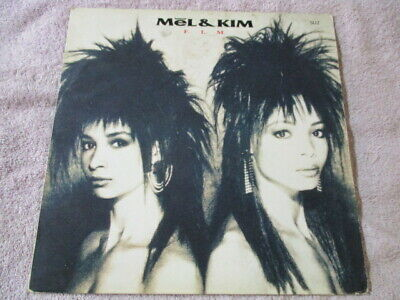 Mel And Kim,FLM,12  Lp Record,ungraded,fast Post :) • 2.49£