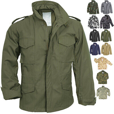 $96.99 • Buy Camo Military M-65 Field Coat Camouflage Army M65 Tactical Uniform Jacket M1965