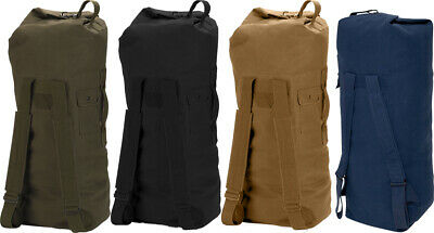 $27.99 • Buy Heavy Duty Top Load Duffle Bag Backpack With Double Straps , 22  X 38