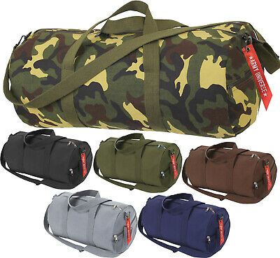 $22.99 • Buy Camo Tactical Shoulder Bag Sports Canvas Gym Weekend Carry Strap Tote Duffle