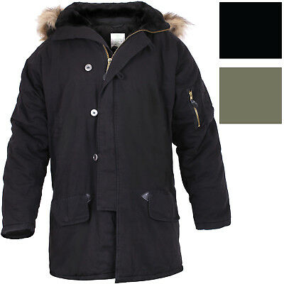 $ CDN146.14 • Buy Vintage Military N-3B Parka Cold Weather Snorkel Air Force Hooded Cotton Jacket