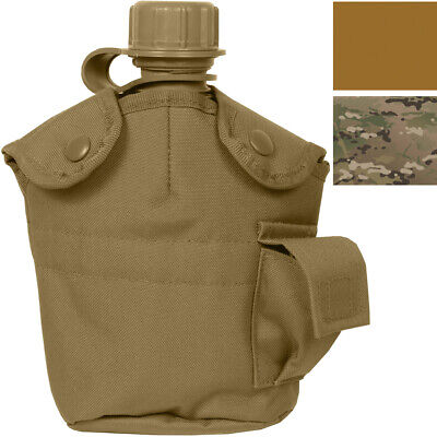 $ CDN20.56 • Buy Tactical Canteen Cover 1 Qt MOLLE Compatible Army Military Camping Travel