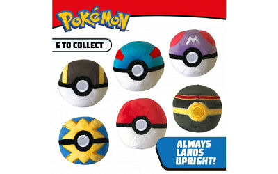 Pokémon 4 Inch Poke Ball Plush Toy • 9.95£