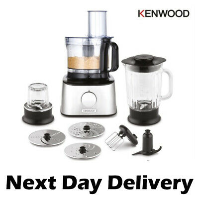 View Details Kenwood FDM302SS MultiPro Compact Food Processor With Blender • 108.95£