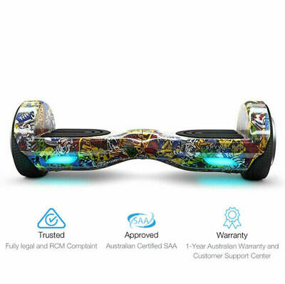 AU474.05 • Buy Skywalker 6.5  Swegway Electric Scooter Hoverboard - Graffiti Limited Edition!
