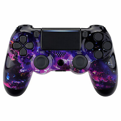 AU22.23 • Buy Custom Surreal Lava Faceplate Upper Shell Fix Part  For PS4 Slim Pro Controller