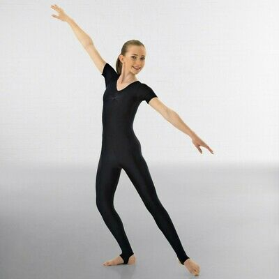 1st Position Ruched Front Dance Catsuit • 33.99£