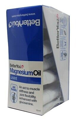 BetterYou  MagnesiumOil Joint Spray Free UK P&P • 13.87£