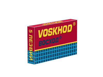 Voskhod TEFLON Coated | Double Edge Razor Blades |  Premium Safety DE • 9.49£