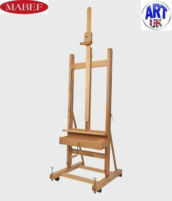 £620 • Buy Mabef Professional Artists Beech Wood Small With Crank Studio Easel -M/05