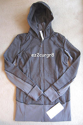 $ CDN249.99 • Buy Lululemon Daily Practice Jacket Heathered Herringbone Slate 10 Or 12