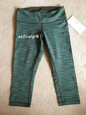 $ CDN79.99 • Buy Lululemon Wunder Under Crop Wee Are From Space Fatigue Green Stripes 4 6 10
