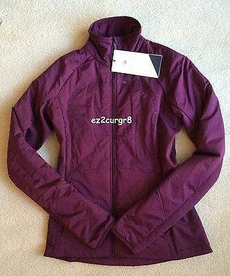 $ CDN189.99 • Buy Lululemon Run For Cold Jacket Plum 6
