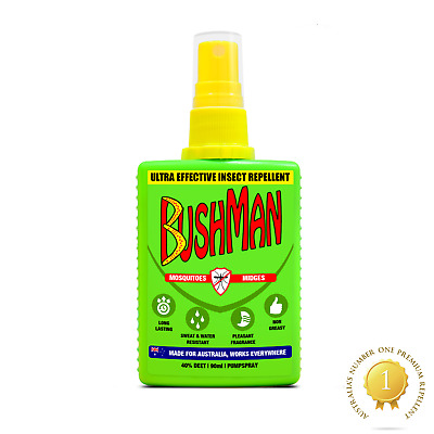 Bushman Ultra Effective Insect, Mosquito, Midges Repellent Spray 90ml • 5.99£