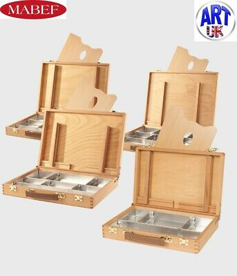 $198.83 • Buy Mabef Professional Artist Beech Wood Tin Lined Storage Box Easel & Palette