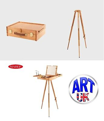 £260 • Buy Mabef Professional Artists Beech Wood Pochade Box Easel Or Tripod- M/105 M/A30