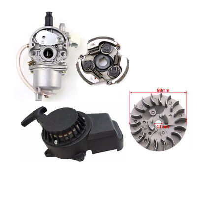 AU51.95 • Buy PULL START STARTER POCKET BIKE MINI DIRT ATV QUAD 50CC 49CC 47CC 2 STROKE +Parts