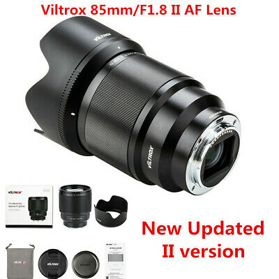 $ CDN541.72 • Buy Viltrox 85mm F1.8 II AF Large Aperture STM Lens For Sony E-Mount A9 A7R2 A6400
