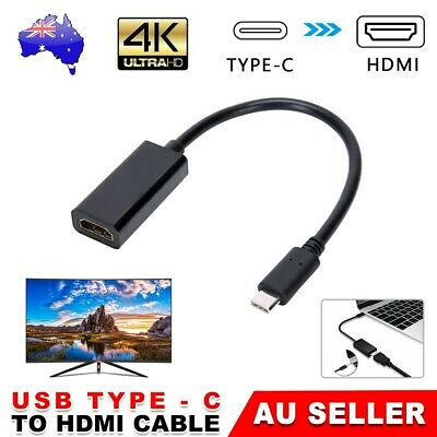 AU13.95 • Buy Type C USB-C To HDMI Adapter Cable Converter For MacBook Samsung ChromeBook AU