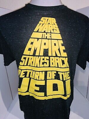 $8.99 • Buy Star Wars Empire Strikes Back  Return Of The Jedi Shirt Size Large Vintage