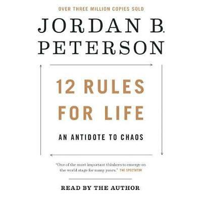 AU70.97 • Buy 12 Rules For Life: An Antidote To Chaos By Jordan B. Peterson (English) Compact