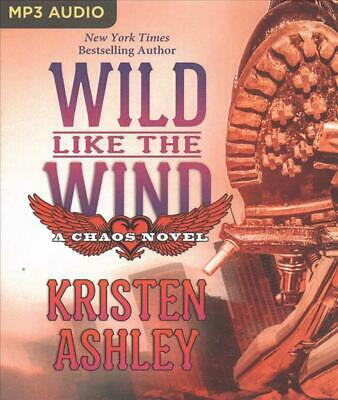 AU39.17 • Buy Wild Like The Wind By Kristen Ashley (English) MP3 CD Book Free Shipping!