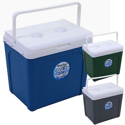 £19.99 • Buy 25L Cool Box Portable Coolbox Insulated Cooler Ice Food Drinks Travel Camping