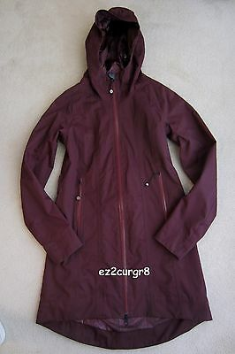 $ CDN219.99 • Buy Lululemon Right As Rain Jacket Bordeaux Drama Wine Burgundy Maroon Plum 4