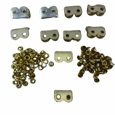 £31.13 • Buy WWII WWI 1  Brass Ends/Tips For P08 1908 P37 Webbing Sets Set Of 10 LL098