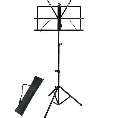 Metal Portable Folding Sheet Music Stand Holder Orchestral Guitar Violin Kids • 8.99£