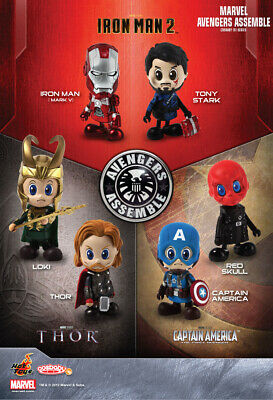 $ CDN119 • Buy Hot Toys Marvel Avengers Assemble Cosbaby Series - COSB113-118