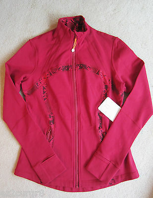 $ CDN229.99 • Buy Lululemon Define Jacket Cranberry Ziggy Snake Red Tide 10