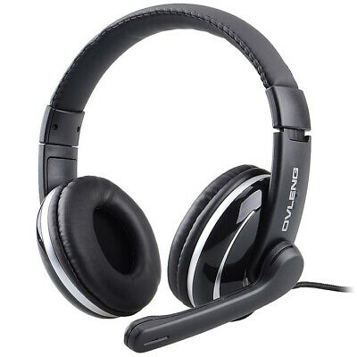 $ CDN20.99 • Buy 3.5mm Stereo Headset Gaming With Mic Microphone Headphone For PC Laptop Computer