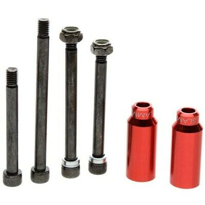 £15.95 • Buy Slamm Scooter Cylinders Stunt Pegs Inc. Axle - Red. Scooter Pegs Slamm Pegs