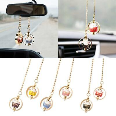 $2.44 • Buy 1*Car Rear View Mirror Hanging Decoration Lucky Cat Car Pendant Auto Accessories