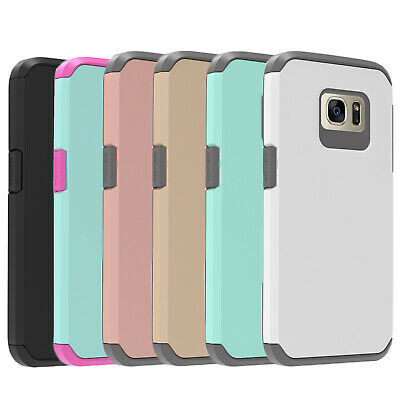 $ CDN11.41 • Buy For Samsung Galaxy S7 / S7 Edge , Shockproof Case + Glass Screen Protector