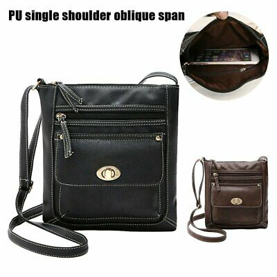AU15.99 • Buy Womens PU Leather Satchel Cross Body  Messenger Handbag Shoulder Bags Purse AU