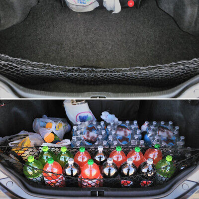 $16.99 • Buy Car Accessories Universal Envelope Style Trunk Cargo Net Nylon Organizer Storage