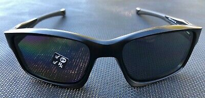 AU145 • Buy Oakley OO 9247-15  POLARISED CHAINLINK  MATTE BLACK GREY POLARISED Sunglasses .