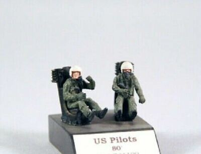 £6.49 • Buy PJ Production 721109 1/72 US Pilots Seated In A/c (80') Resin Figures