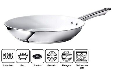 £11.99 • Buy 24cm Non Stick Frying Pan Ceramic Coated Omelette Induction Gas Hob 10  QUALITY