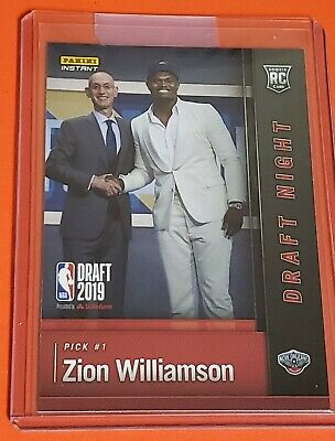 $14.99 • Buy Zion Williamson Rookie Card - 2019 Panini Instant - New Orleans Pelicans - NBA
