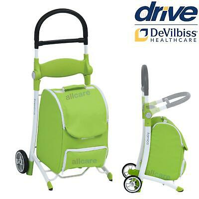 £55 • Buy Shopping Trolley Wheeled Walking Aid With Seat, Removable Carry Bag. Two Wheels