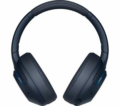 SONY EXTRA BASS WH-XB900N Wireless Bluetooth Noise-Cancelling Headphones Blue • 169£