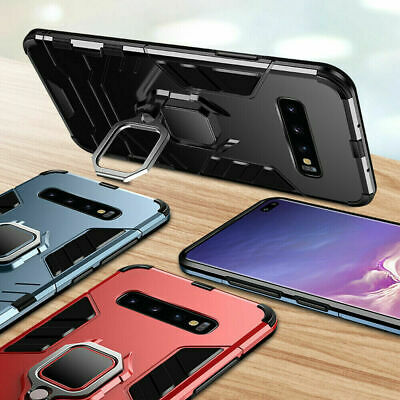 $ CDN5.99 • Buy For Samsung Galaxy Shockproof Hybrid Magnetic Ring Holder Stand Hard Case Cover